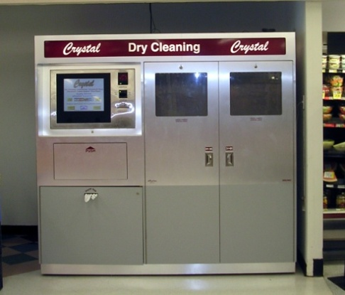 Crystal Dry Cleaning Kiosk