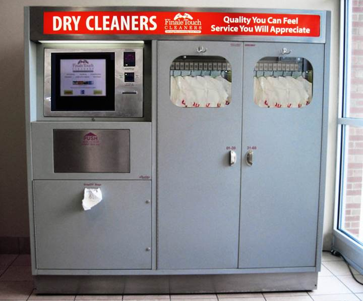 Finale Touch Cleaners Dry Cleaning Kiosk